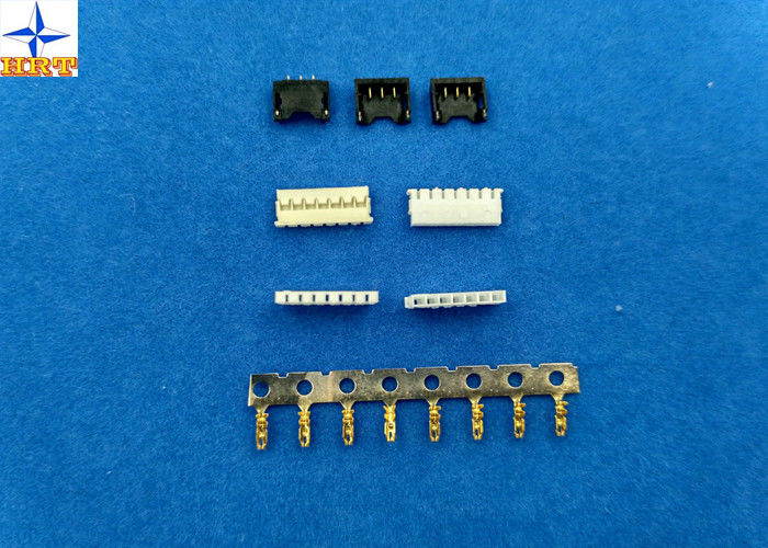 1.2mm pitch 78172 cellphone wire to board type battery connectors 8 position max