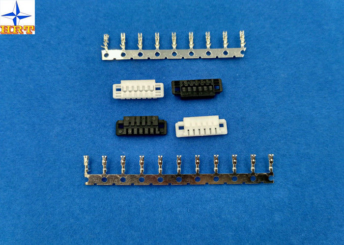 1.5mm Pitch Battery Connectors with Tin-plated terminals 6 Poles Crimp Wire to Board Connector