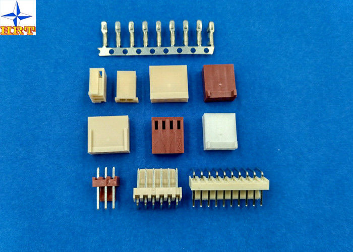 Wire To Board Type Connectors, Single Row Housing Connectors Brass Material Tinned Contact